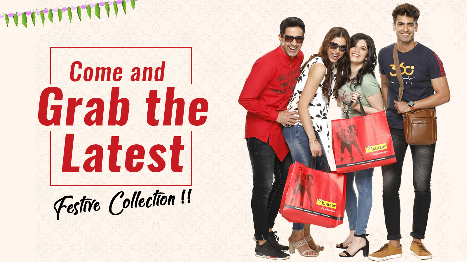 Latest Festive Collection at M Baazar