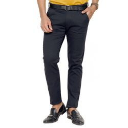 Buy Black Cotton Trousers at M Baazar