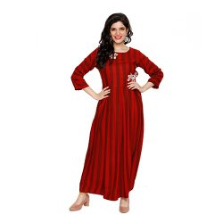 Buy Red Frock at M Baazar