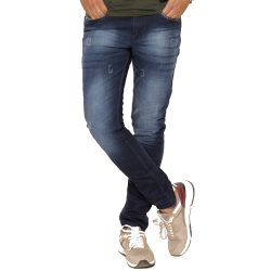 Buy Blue Faded Jeans at M Baazar