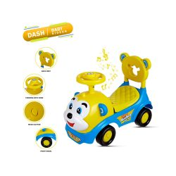 Buy Monkey Ride on and Push Car with Horn for Kids at M Baazar