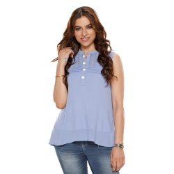 Buy Blue Top for Girls at M Baazar