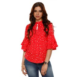 Buy Red Top for Girls at M Baazar