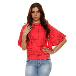 Buy Fashionable Red Top at M Baazar